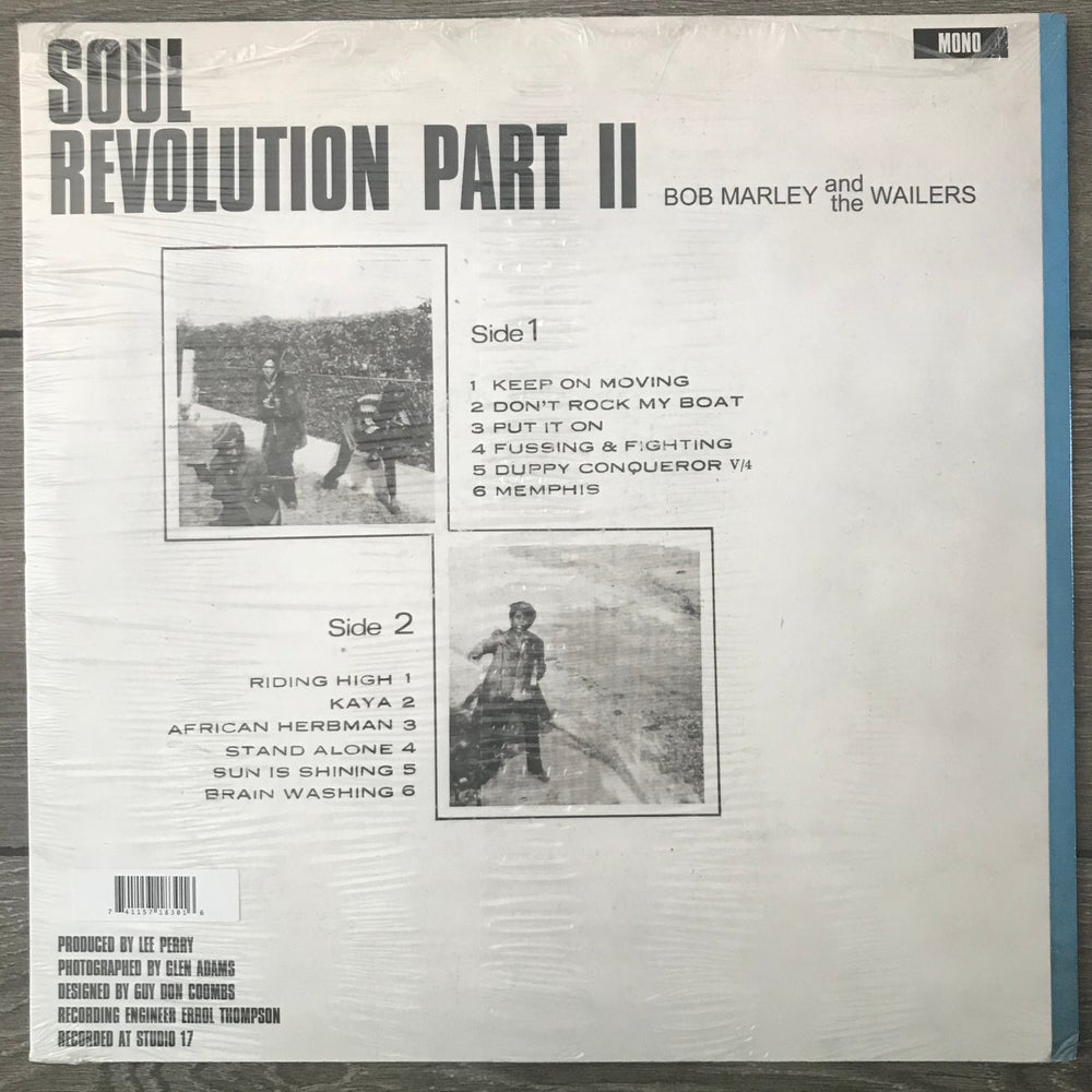 Image of Bob Marley And The Wailers - Soul Revolution Part II Vinyl LP