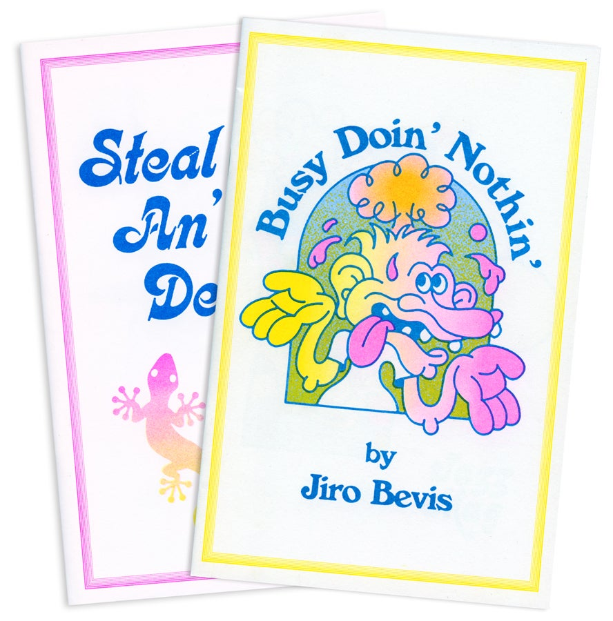 Image of Jiro Bevis Zine Bundle