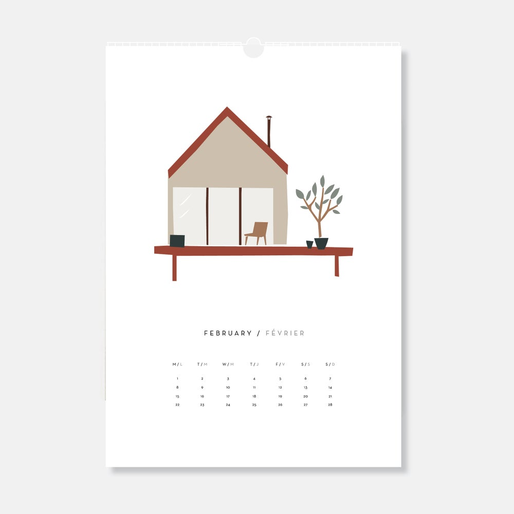 Image of Tiny House calendar 2021