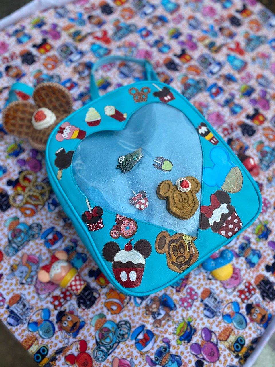 Image of Snacks window park backpack