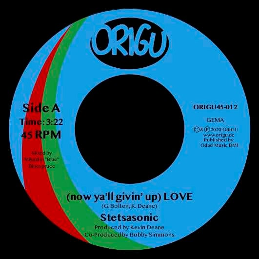"Image of PRE-ORDER 7"" STETSASONIC - (NOW YA'LL GIVIN' UP) LOVE B/W A CAPELLA"