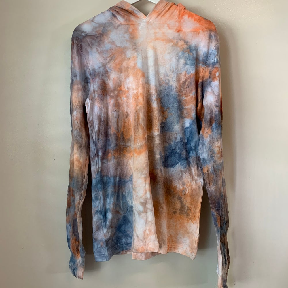 Image of Tie Dye Medium Light Hoodie (Dawn Chorus)