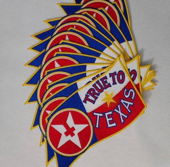 Image of True to Texas Hell Patch