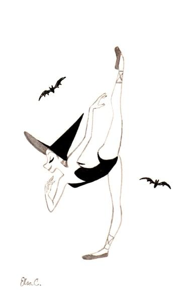 Image of Ballerina Witch 8 [Original]