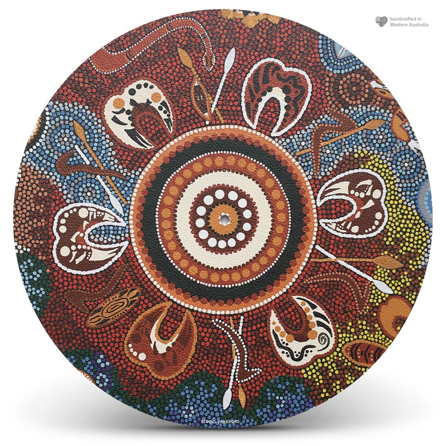 Image of Ingkerreke collab with Cora Lynch (Australian Aboriginal artist)