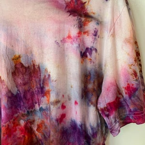 Image of Tie Dye XL 1 of 1 (Magenta Twombly)