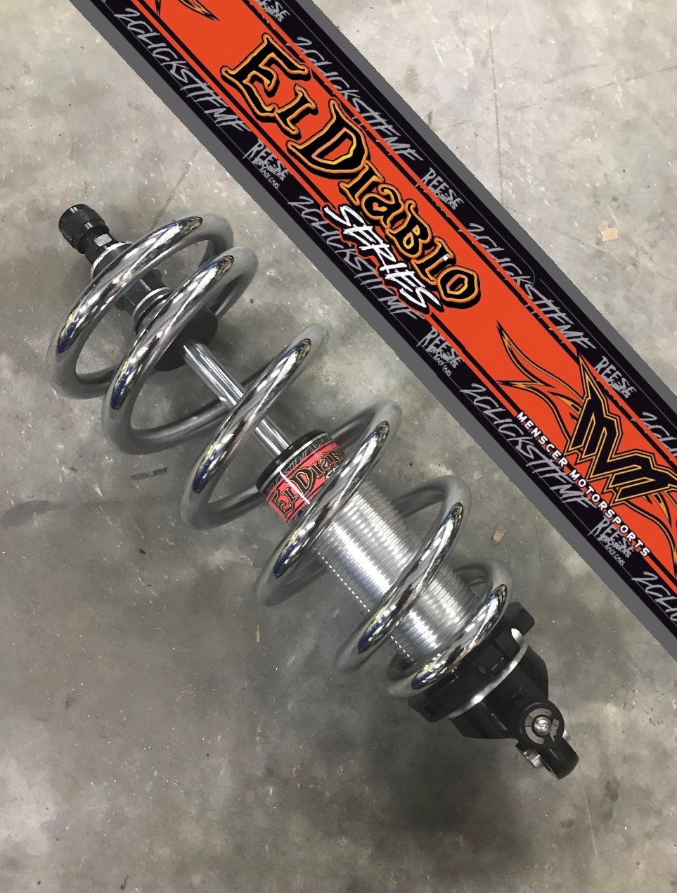 Front Twin Tube Shocks - El Diablo Series (Pair)