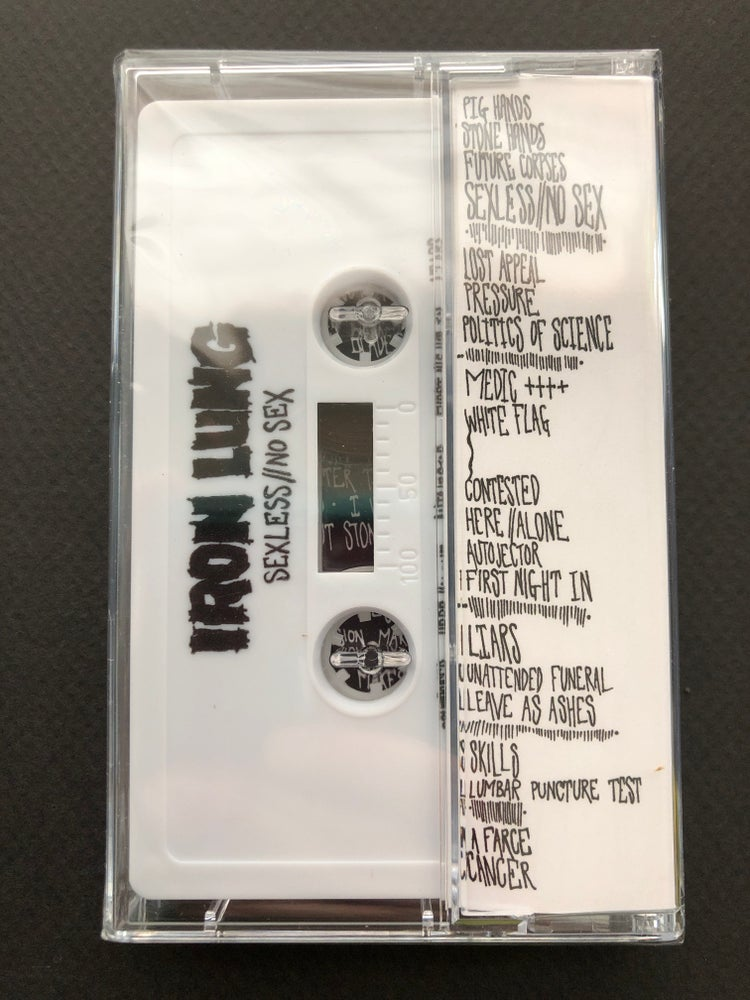 "Image of IRON LUNG - ""Sexless // No Sex"" Cassette"