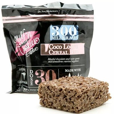 Milf N Cookie Cereal Bar - 300mg Coco Love