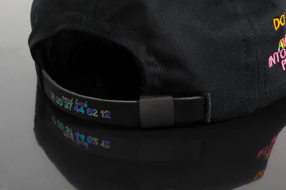 Image of 0002 - SIX PANEL BALL CAP W/THOMAS BRADLEY