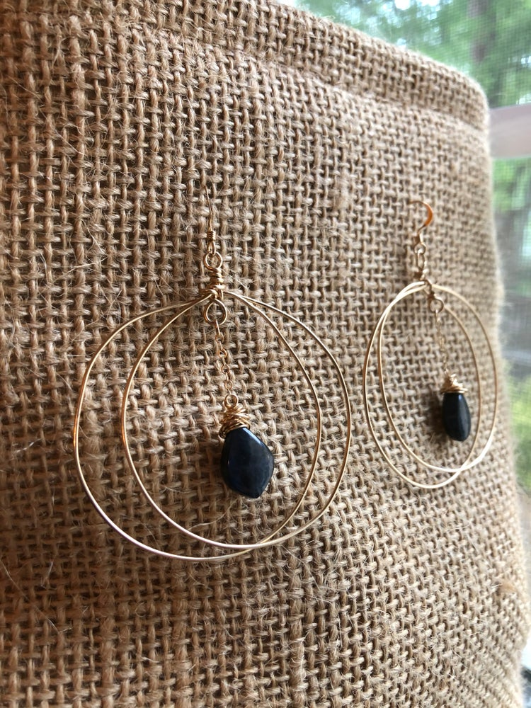 Image of Blueberry Dream Earrings