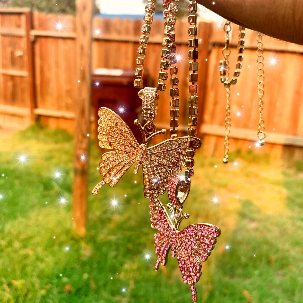 Luxury butterfly large  Pendant