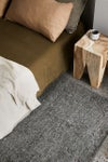 ARMADILLO AND CO PALERMO WOOL RUG - SMOKE