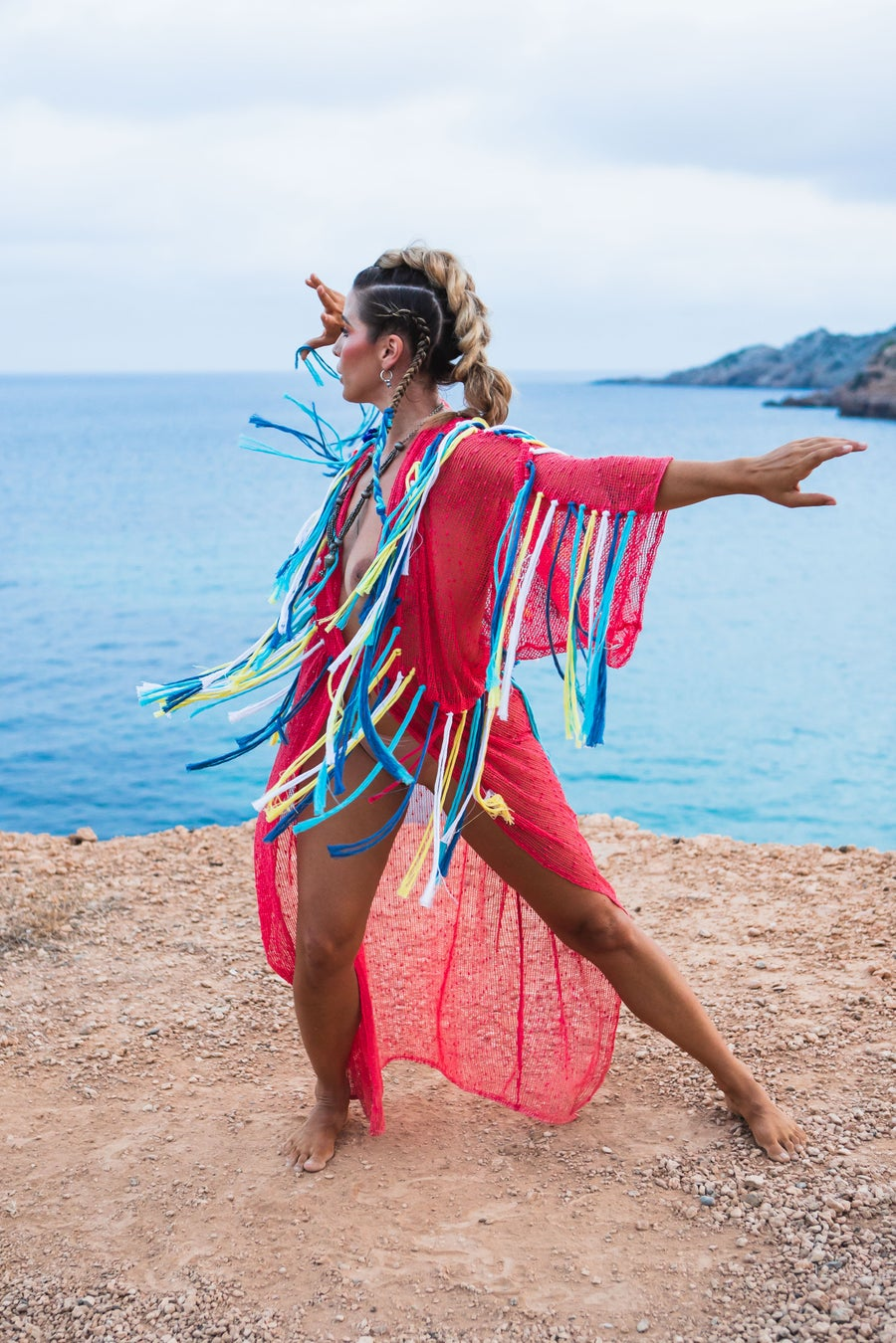 Image of Shamanic Fringes Kimono