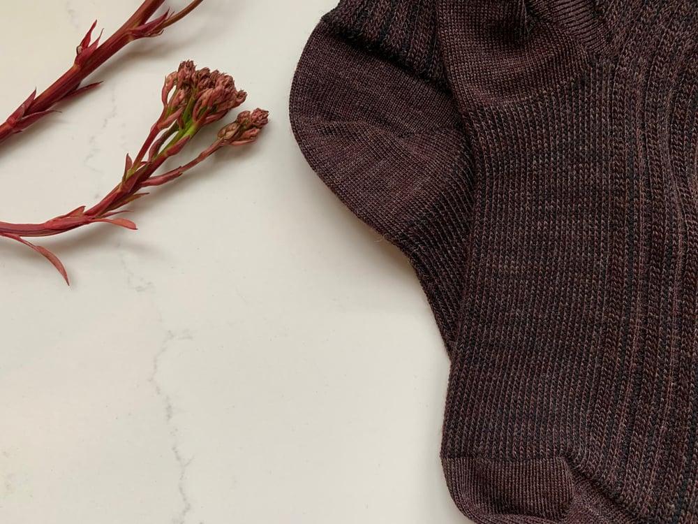 Image of Fathers Day - Soft Merino Railway Socks