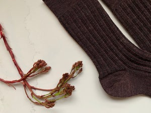 Image of Soft Merino Railway Socks