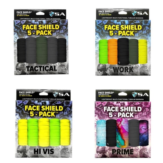 Image of SA Faceshields (5-Pack)