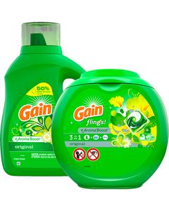 Image of Gain Laundry Products
