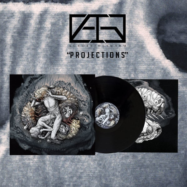 """Image of Across The Swarm """"Projections"""" - LP black"""