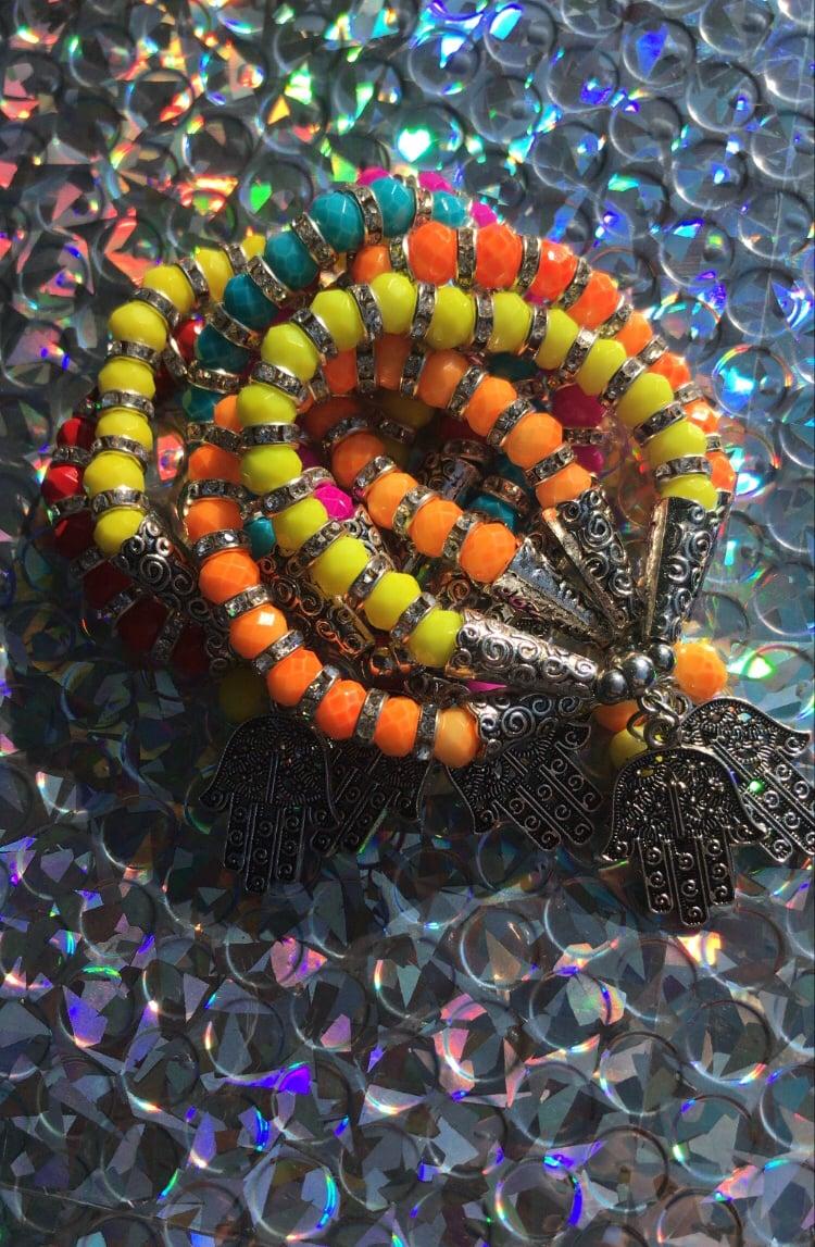 Hamsa Hand Charm Bracelets