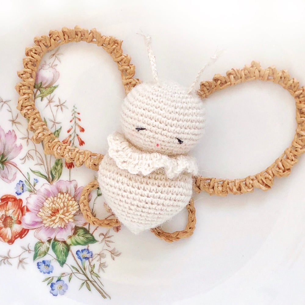 Image of Pollen Le Petit Papillon Ailes Raphia