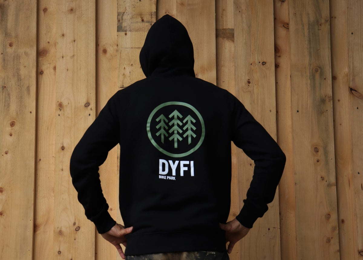 Image of The Dyfi Pullover Hoody - Black