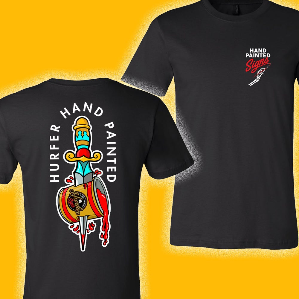Image of Dagger- Black T-shirt