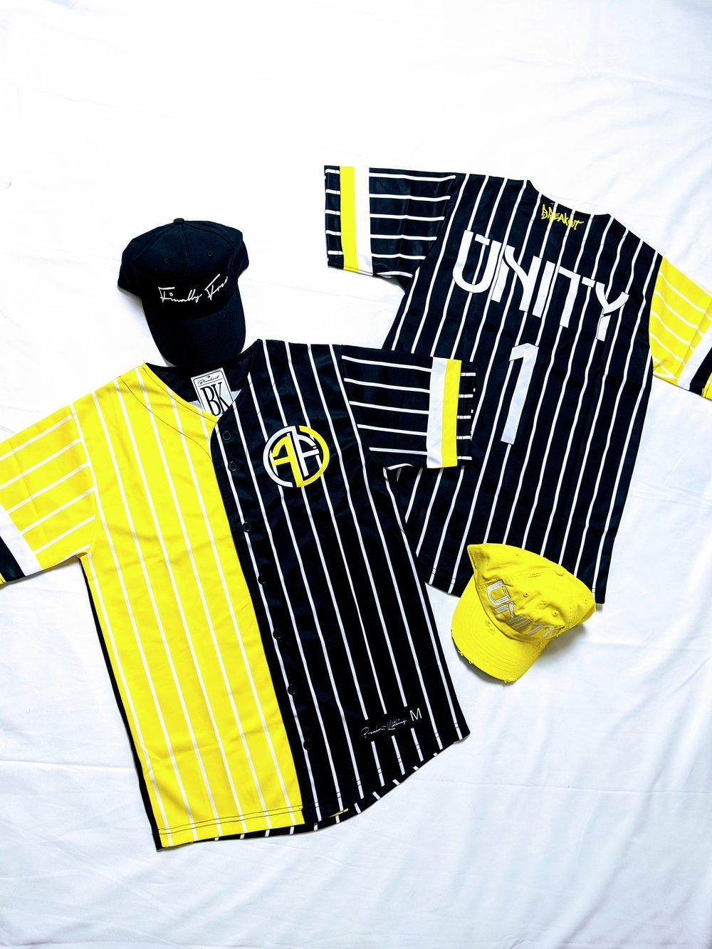 "Image of Black&Yellow ""Unity"" jersey"