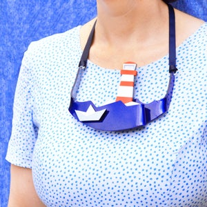 Image of Lighthouse Statement Necklace