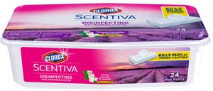 Image of Clorox Scentiva Disinfecting Wet Mopping Cloths Refills