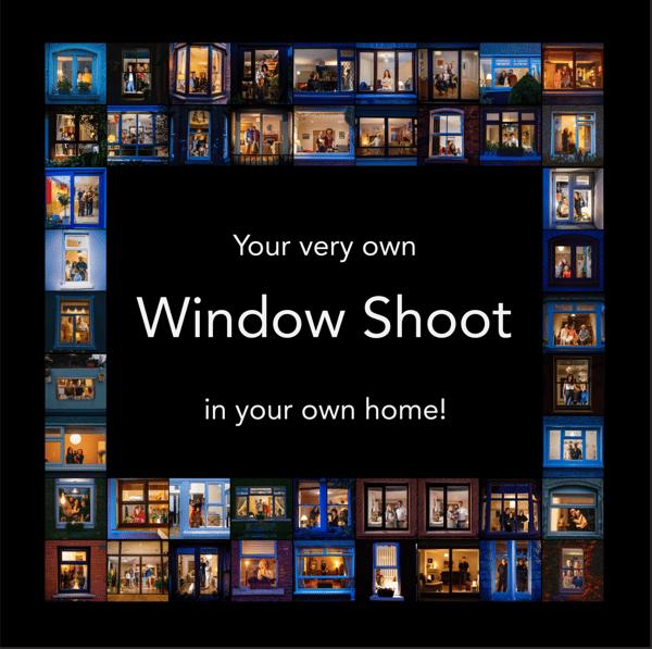 Image of Window Portrait Shoot