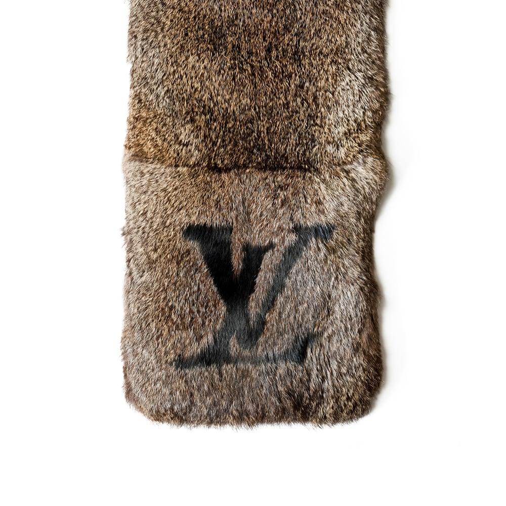 Image of Louis Vuitton Fur Scarf
