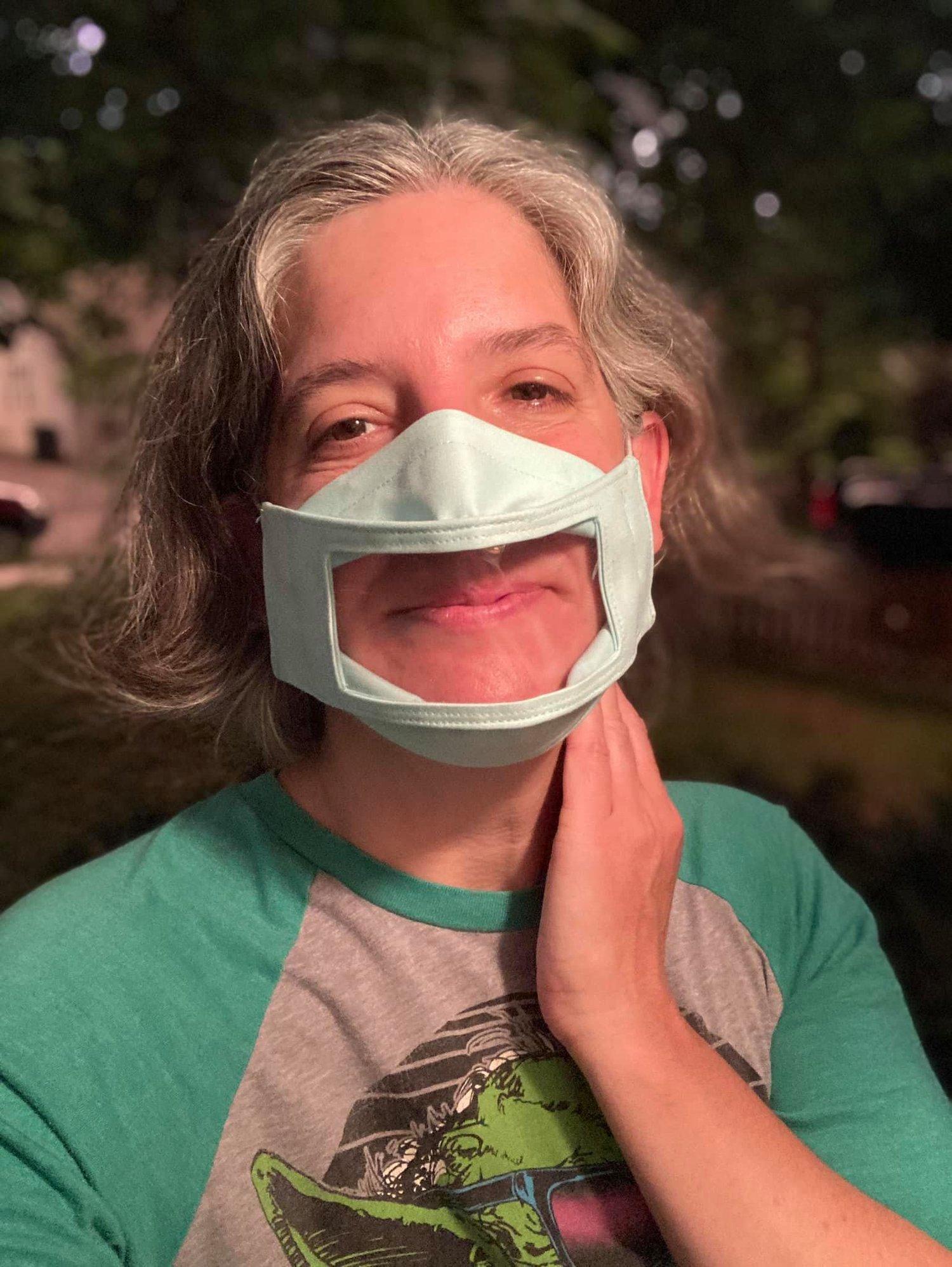 Image of Windowed Face Mask - Adult