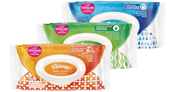 Image of Kleenex Hand and Face Germ Removal Wet Wipes