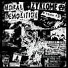 """MORAL DEMOLITION / ZYKLOME A """"Repression E.P"""" Split 7"""" EP"""