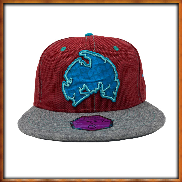 Image of Method Man Maroon Fitted Hat
