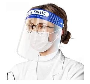Image of Face Shield Splash Protection