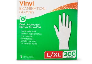 Image of Disposable Hand Gloves (Vinyl or Nitrile)