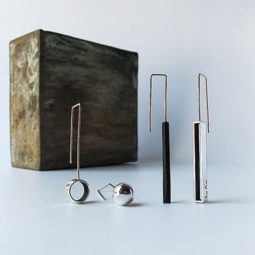 Image of Silver / Copper /Patina / Small Shapes