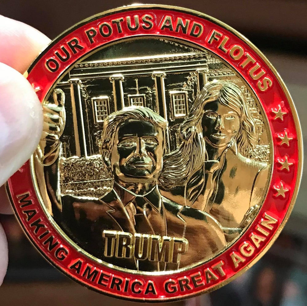 Image of THE ULTIMATE TRUMP COIN!