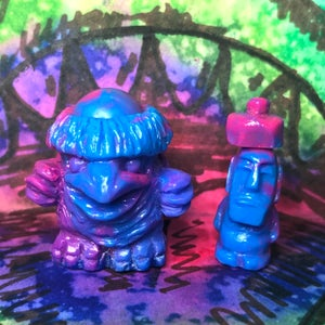 Image of Swamp Genie Blessings - psychedelic marble re:Kappa set