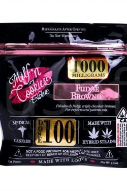 Milf N Cookies - 1000mg Brownie