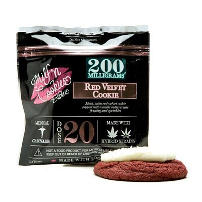 Image of 200mg Red Velvet Cookie - Milf N Cookies