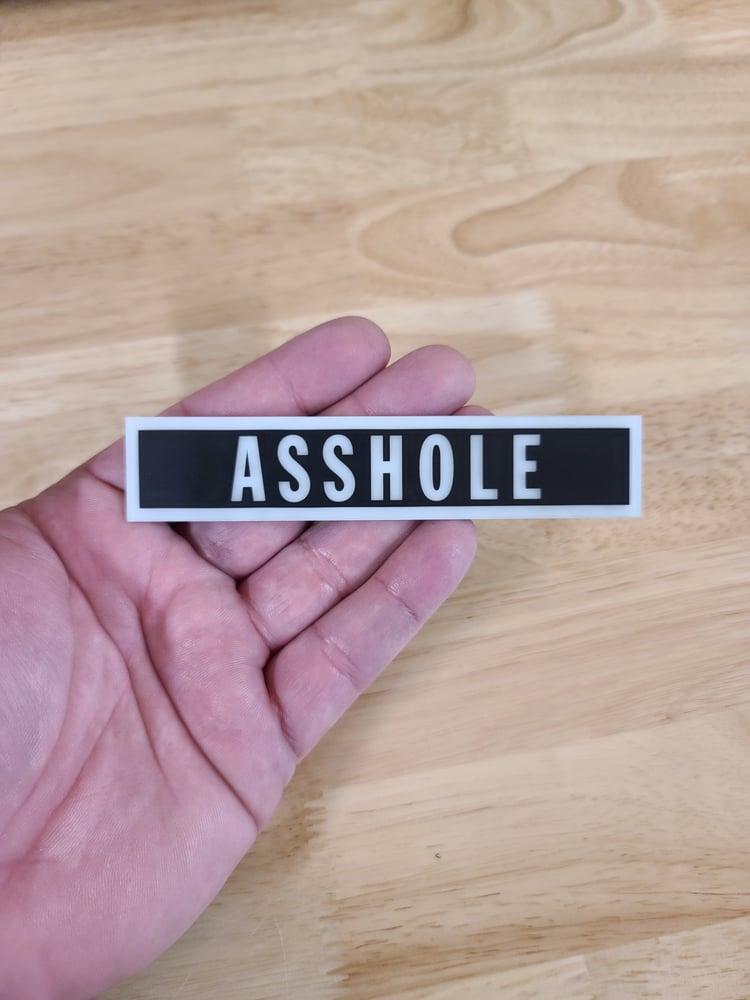 Image of GITD Custom Acrylic Name tapes