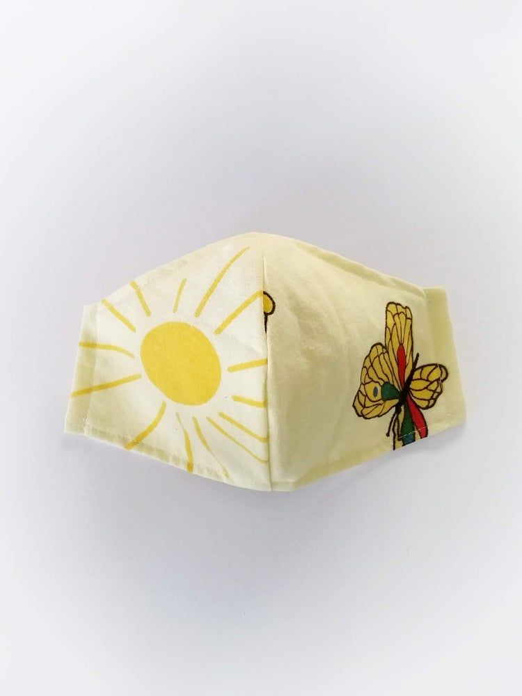 Image of WOMENS Mask - Sunshine Day . vintage collection