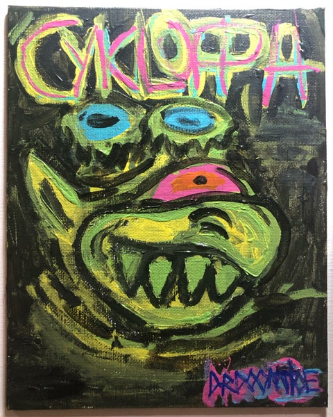 Image of Cykloppa painting