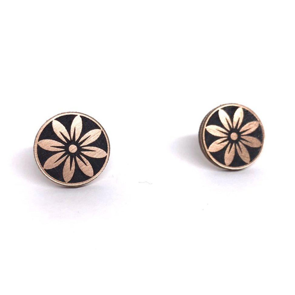 Image of Sunflower Morning Studs