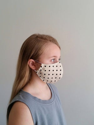 Image of KIDS Mask - Valley Girl . vintage collection