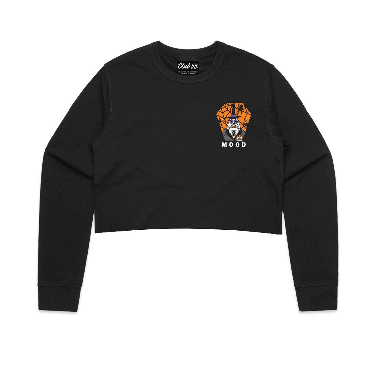 Image of Mood Crop Crewneck Sweatshirt