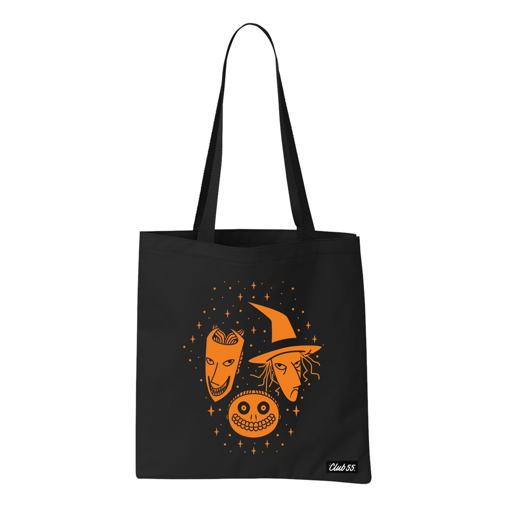 Image of Trick or Treaters Tote Bag